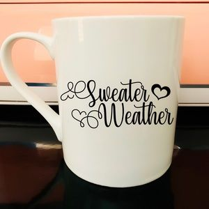 Sweater Weather Cozy Mug, Snuggle Mug, Coffee gift